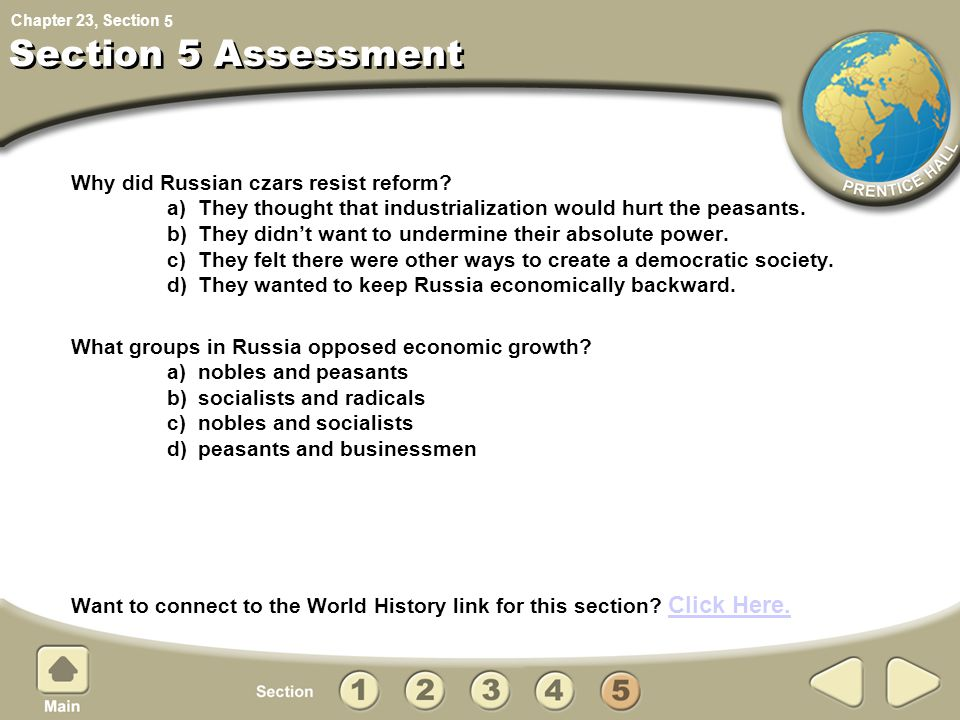 5 Section 5 Assessment.