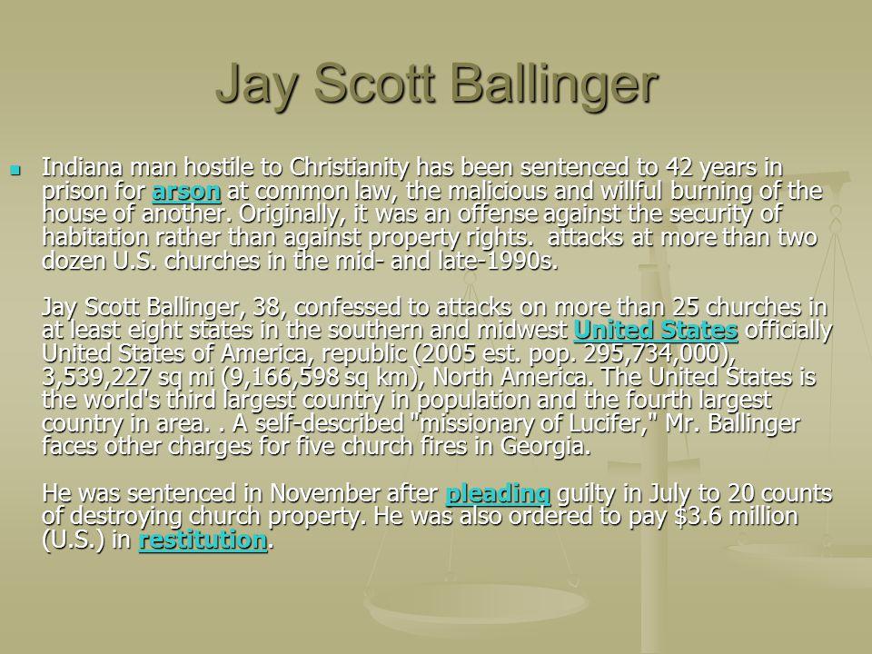 Jay Scott Ballinger