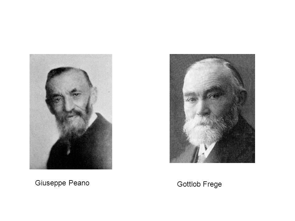 Giuseppe Peano Gottlob Frege