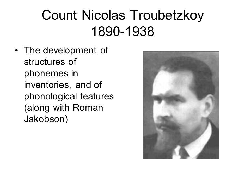 Count Nicolas Troubetzkoy 1890-1938