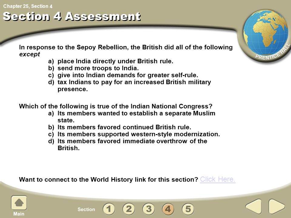 4 Section 4 Assessment.