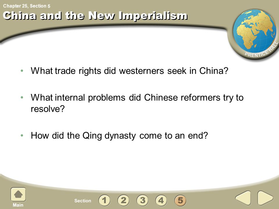 China and the New Imperialism