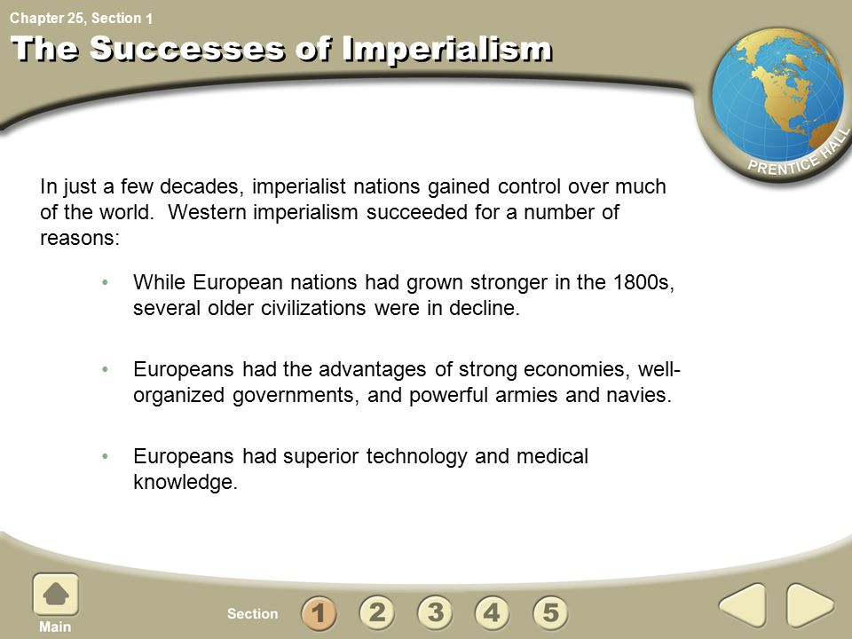 The Successes of Imperialism