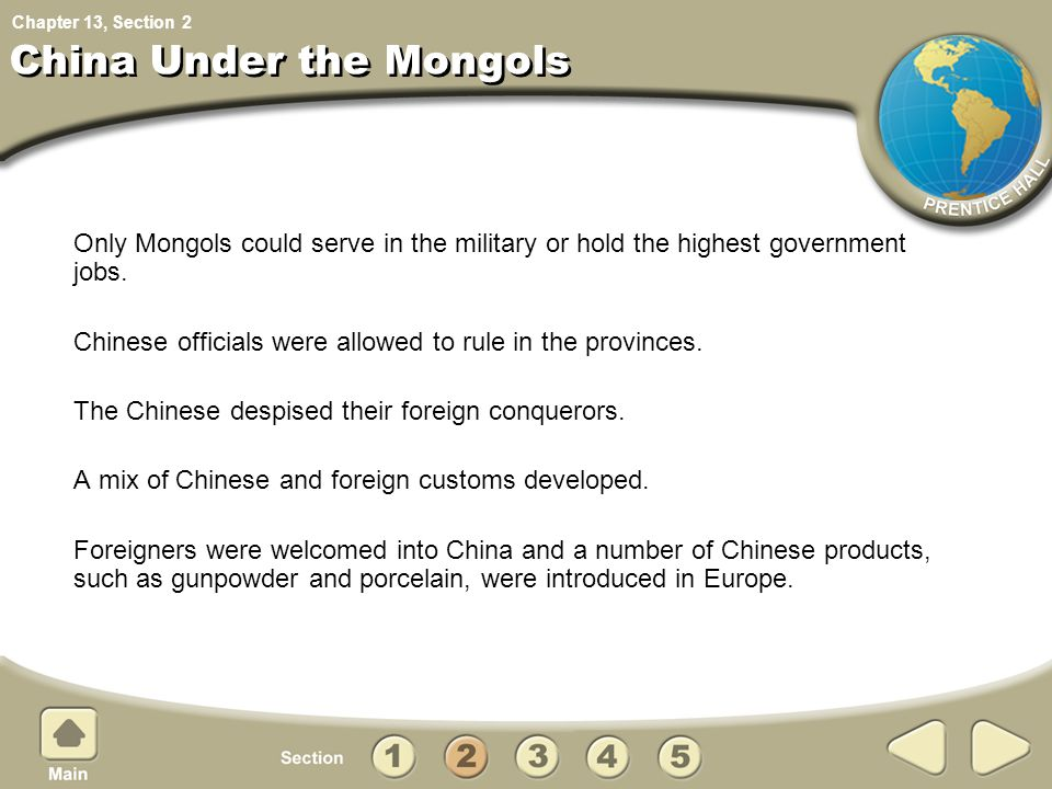China Under the Mongols