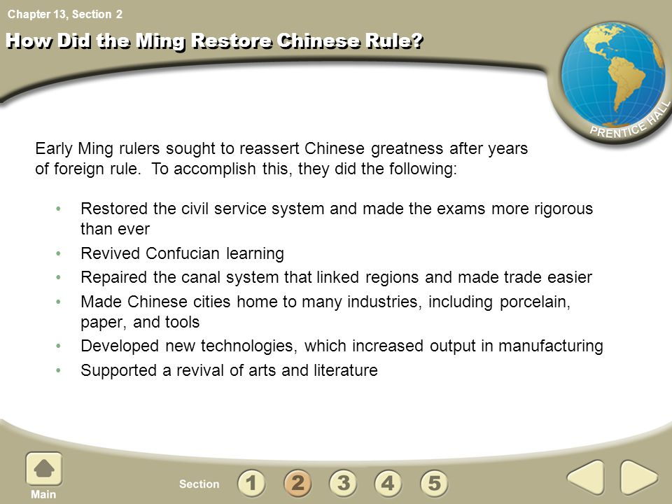 How Did the Ming Restore Chinese Rule
