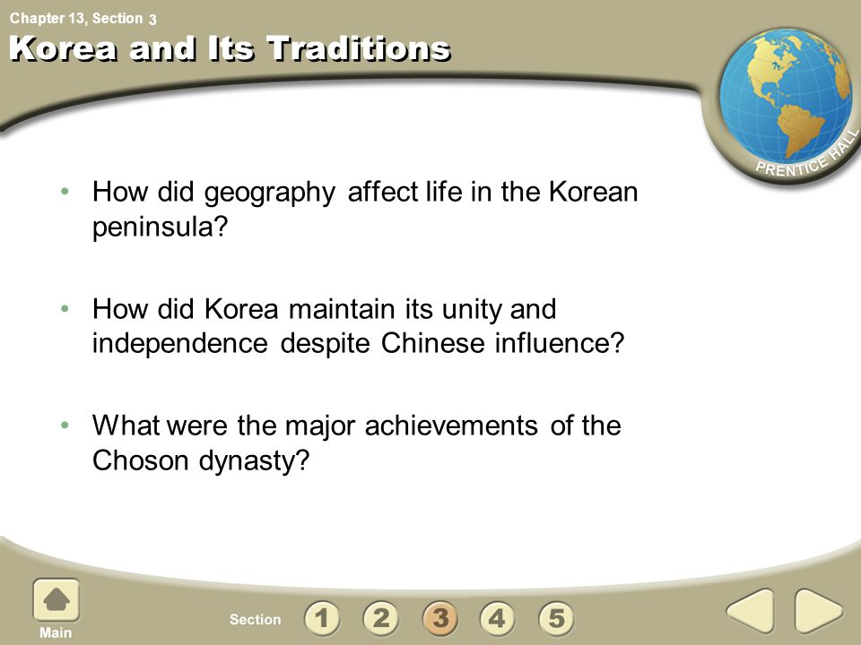 Korea and Its Traditions
