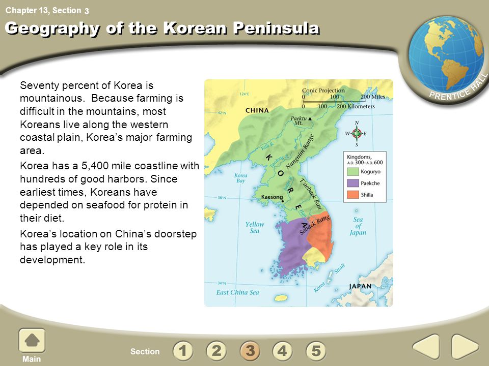 Geography of the Korean Peninsula