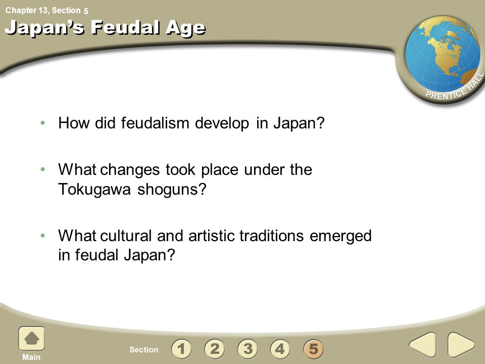 Japan's Feudal Age How did feudalism develop in Japan