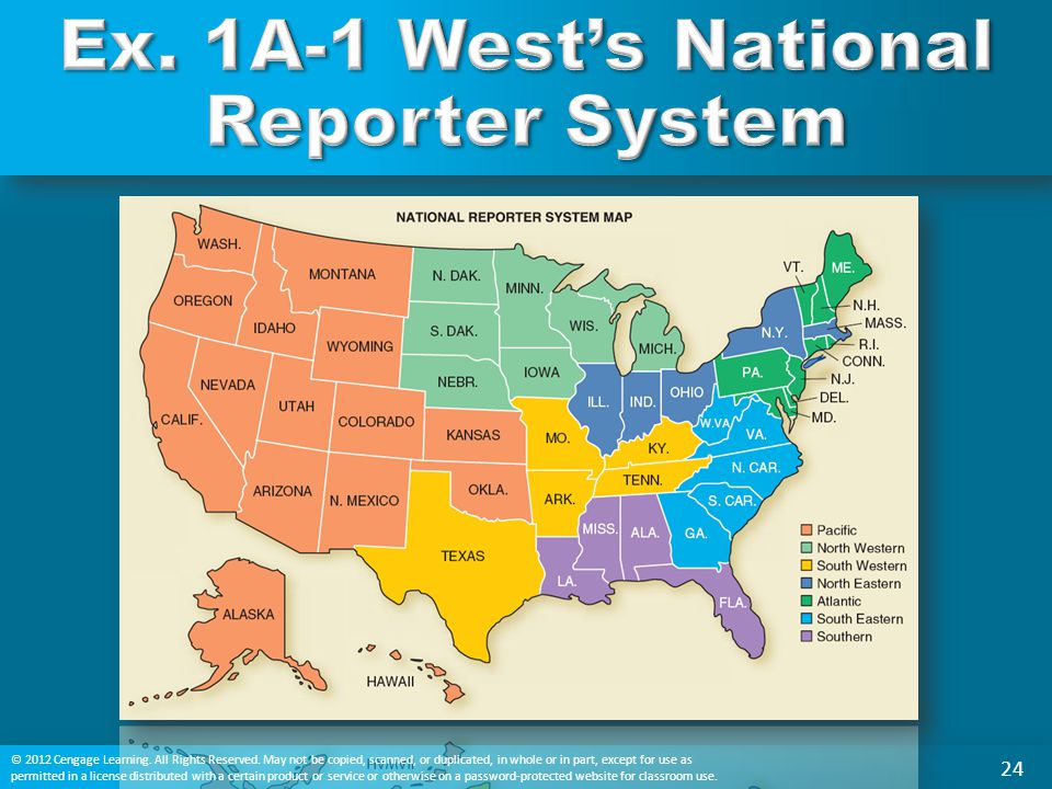 Ex. 1A-1 West's National Reporter System