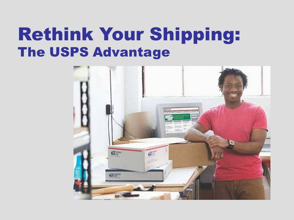Rethink Your Shipping: