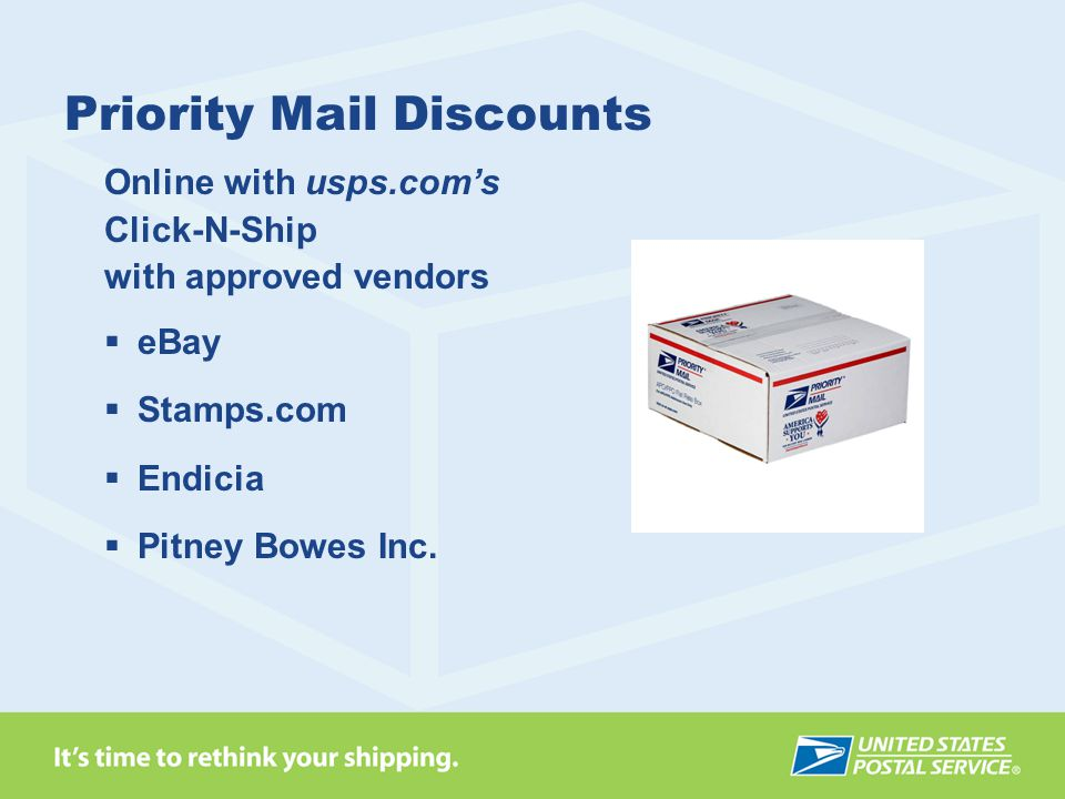 Priority Mail Discounts