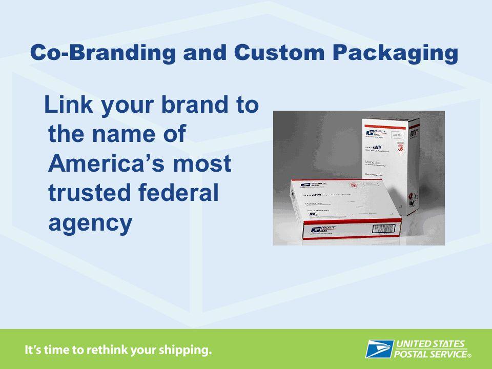 Co-Branding and Custom Packaging