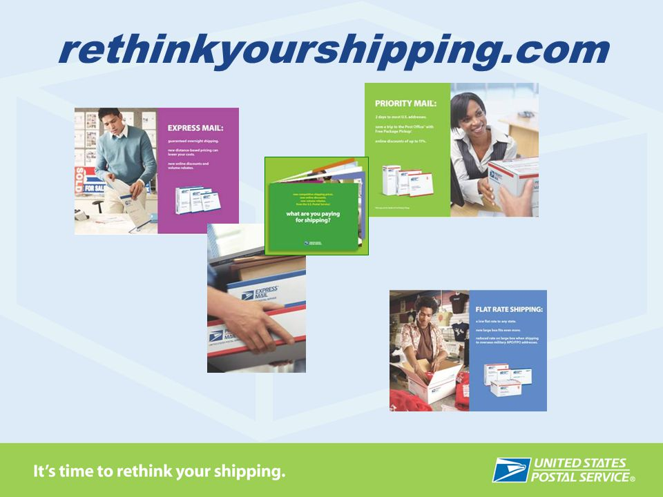 rethinkyourshipping.com Let me ask you this: How hard is your current shipping company working to keep your business