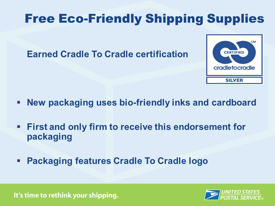 Free Eco-Friendly Shipping Supplies