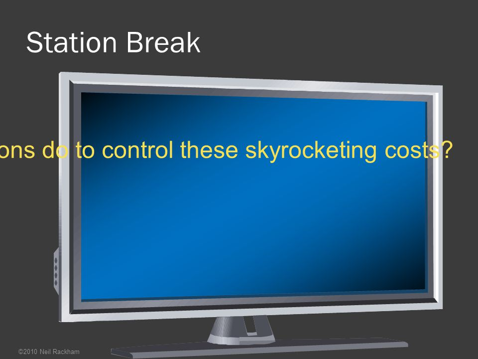 So what can organizations do to control these skyrocketing costs