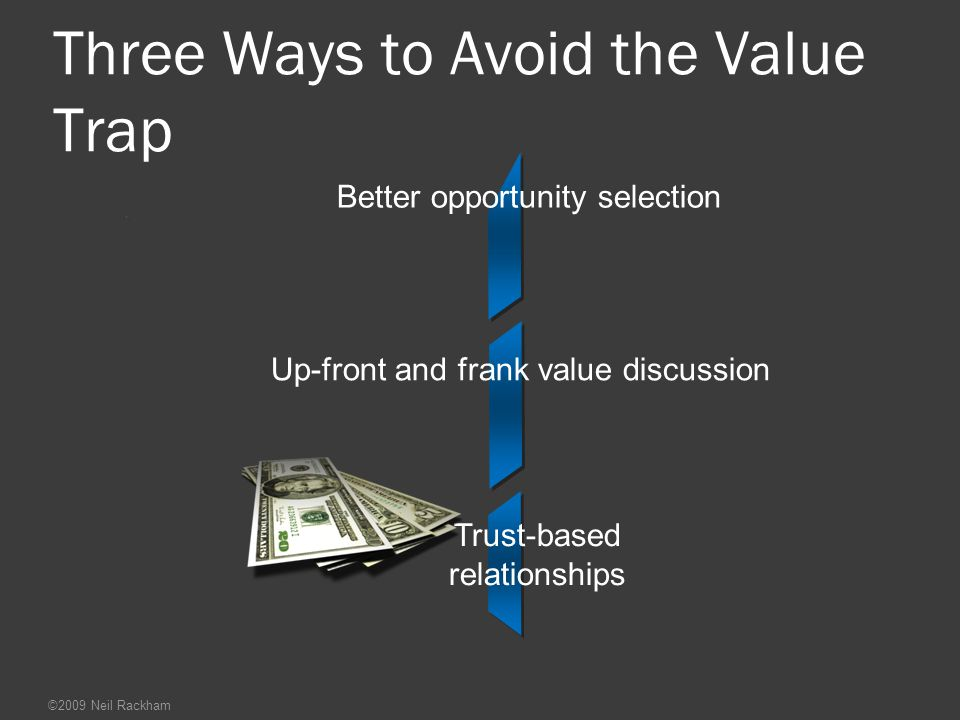Three Ways to Avoid the Value Trap