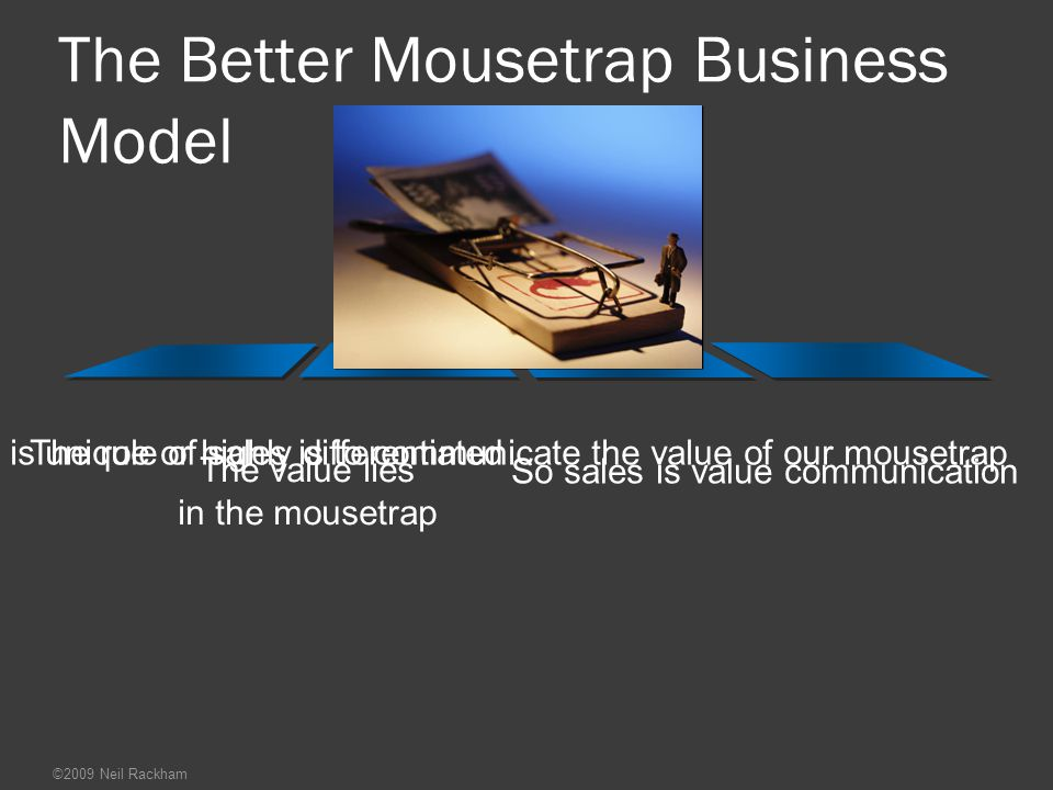 The Better Mousetrap Business Model
