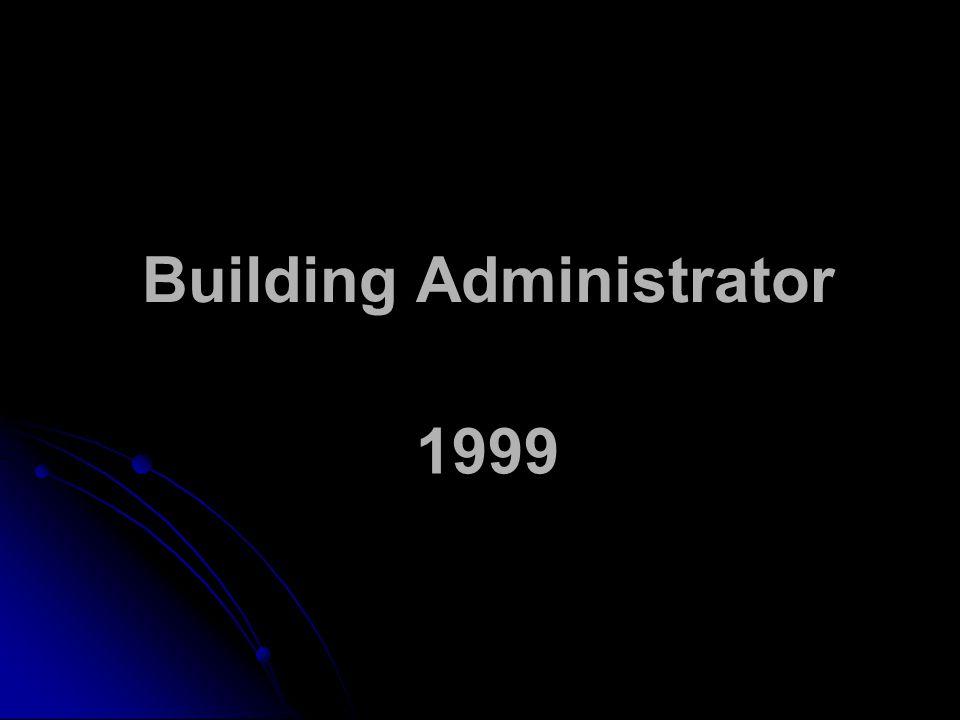 Building Administrator