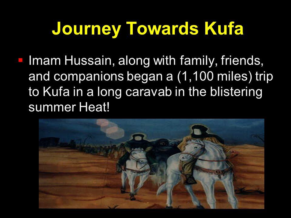 Journey Towards Kufa