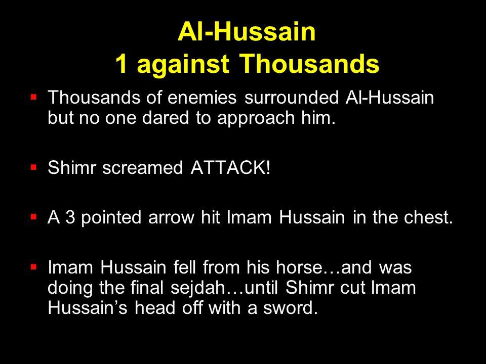 Al-Hussain 1 against Thousands