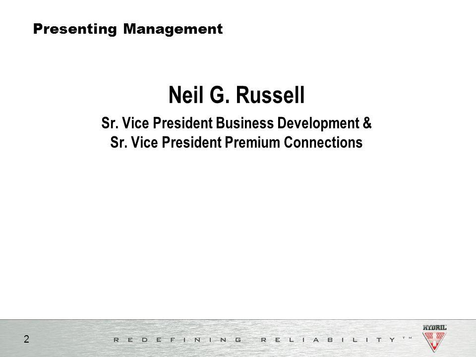 Presenting Management