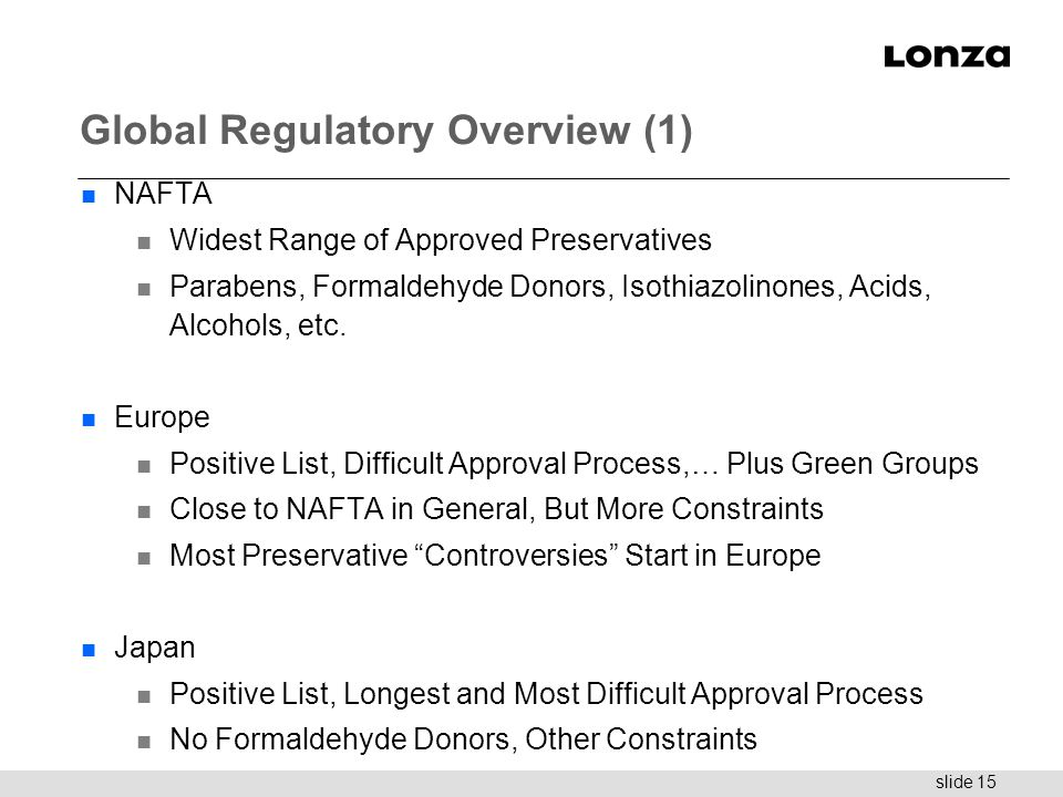 Global Regulatory Overview (1)