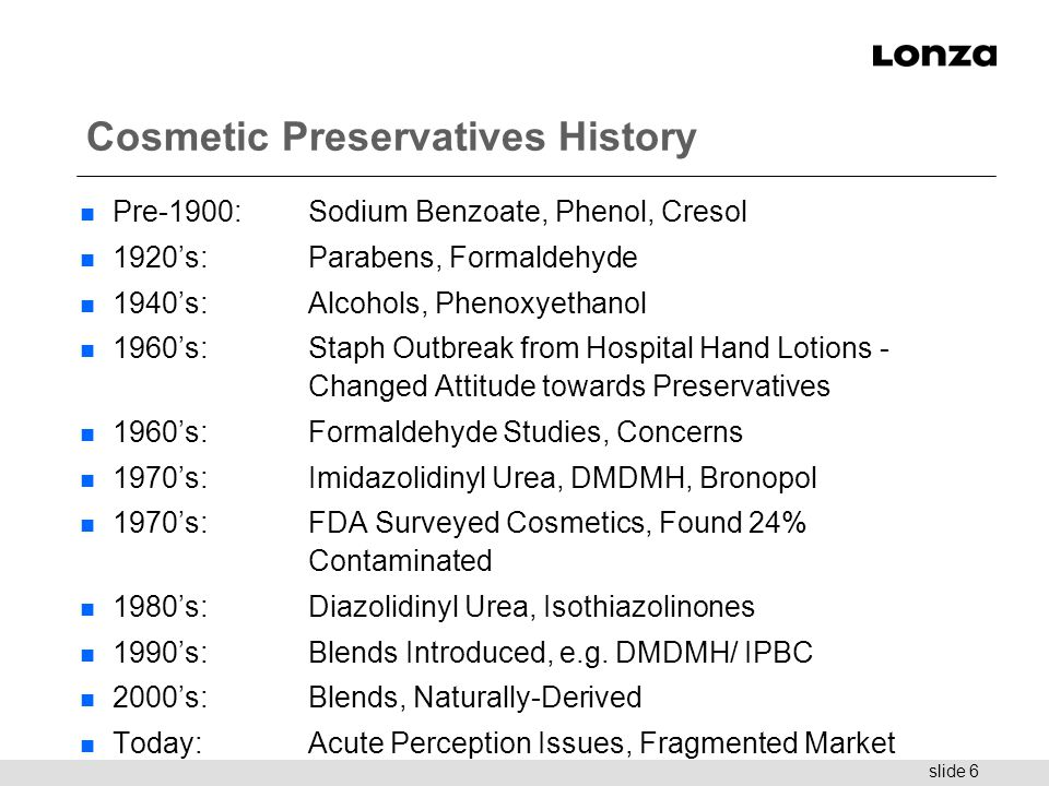 preservatives used in cosmetics pdf