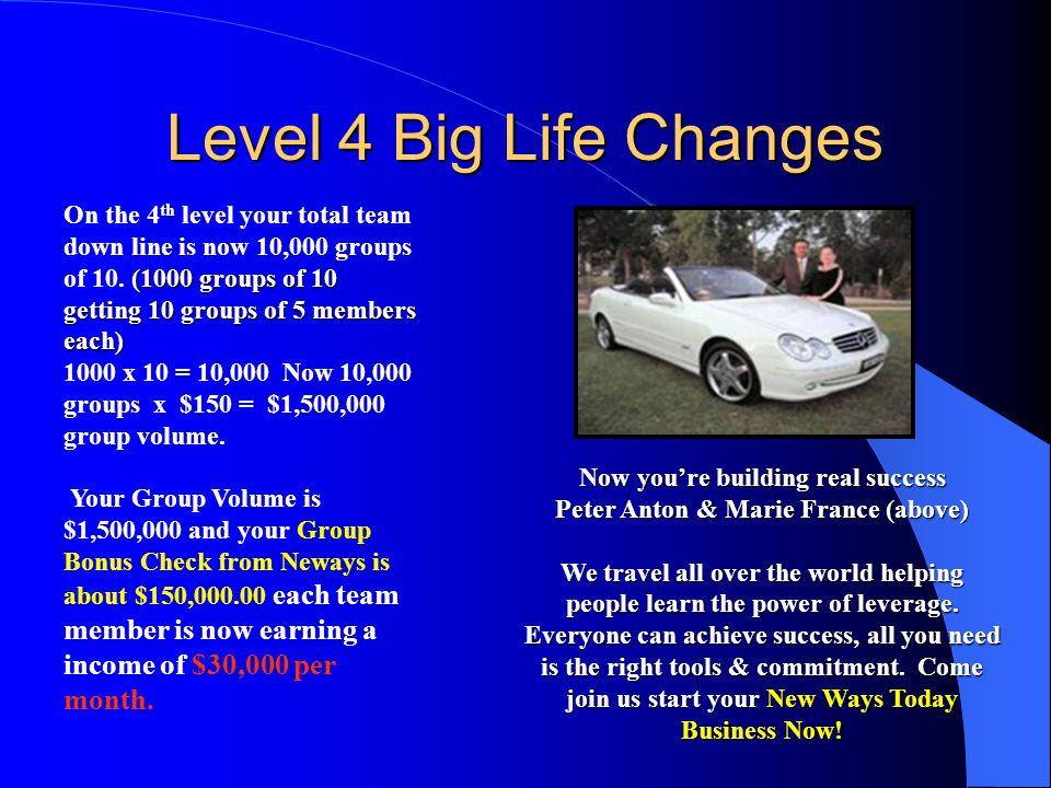 Level 4 Big Life Changes