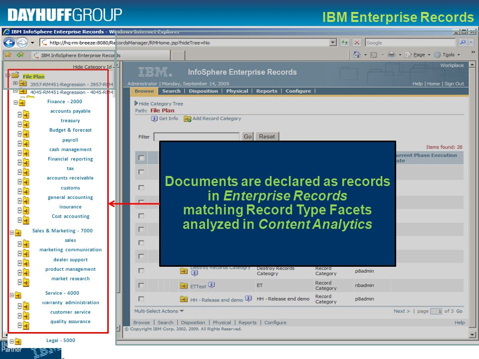 IBM Enterprise Records