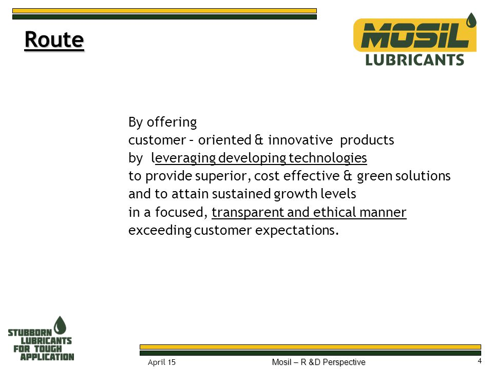 Route By offering customer – oriented & innovative products