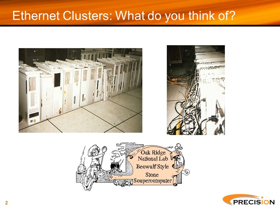 Ethernet Clusters: What do you think of