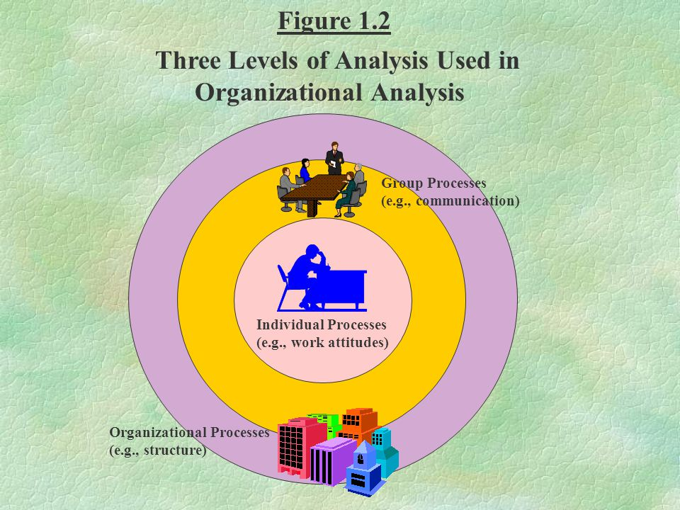 Three Levels of Analysis Used in Organizational Analysis