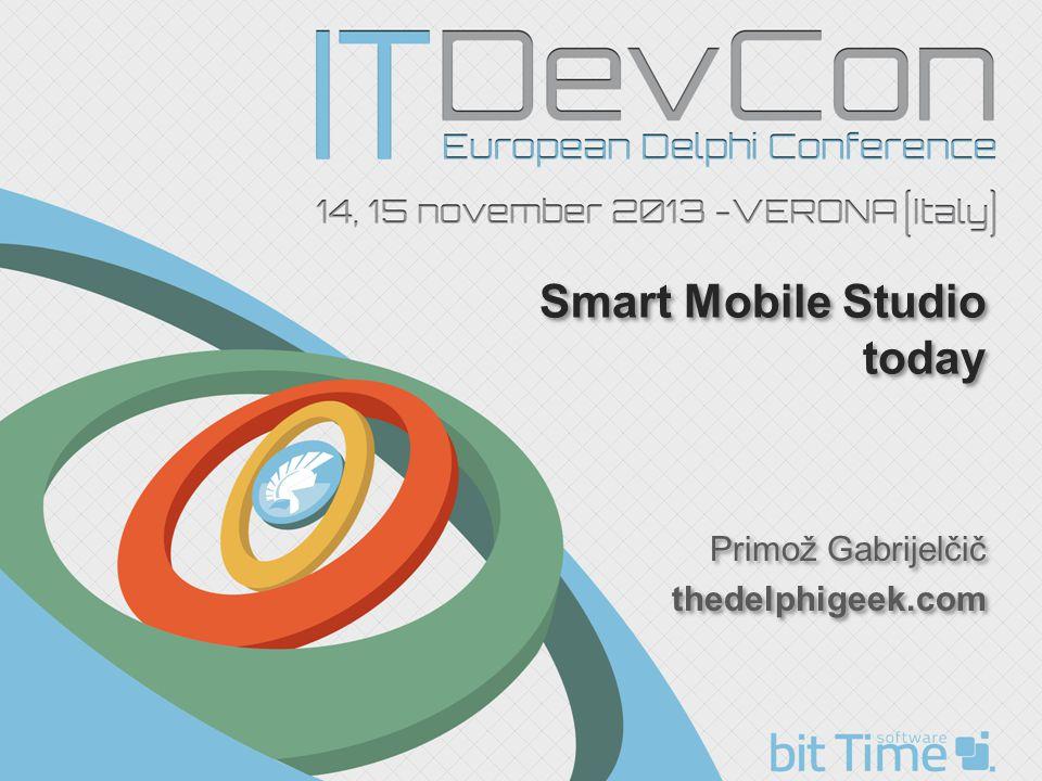 Smart Mobile Studio today