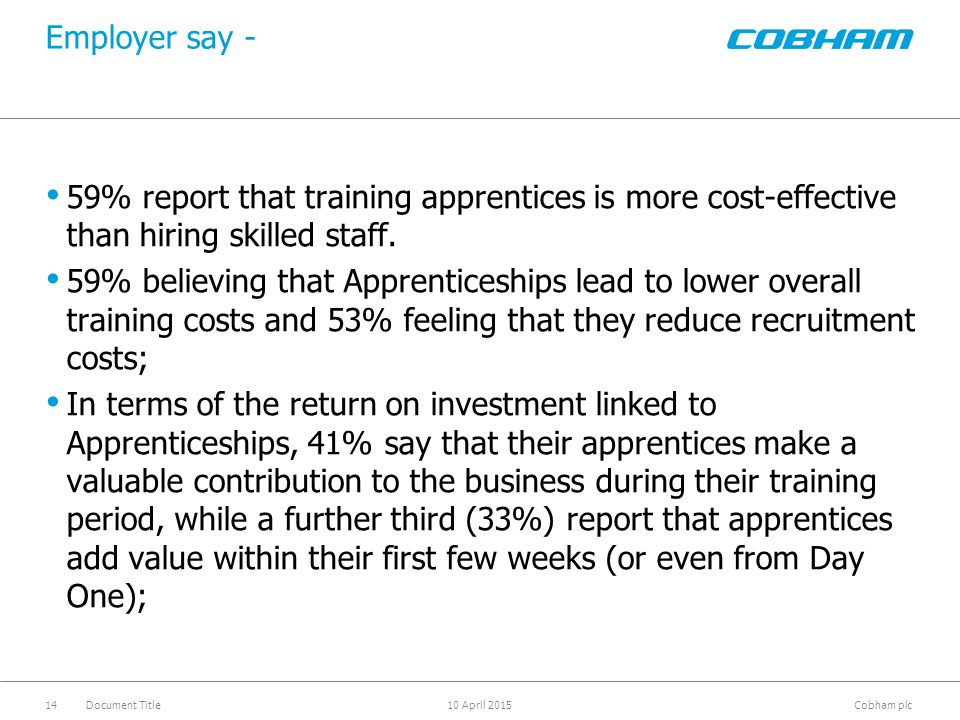 help you decide which Apprenticeship is right for you;