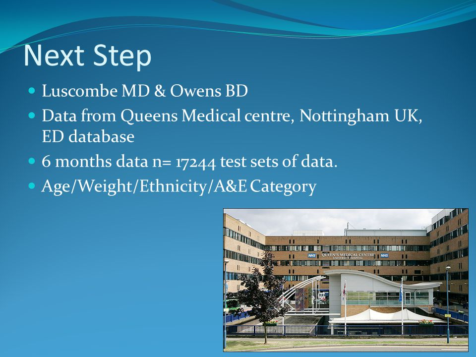 Next Step Luscombe MD & Owens BD