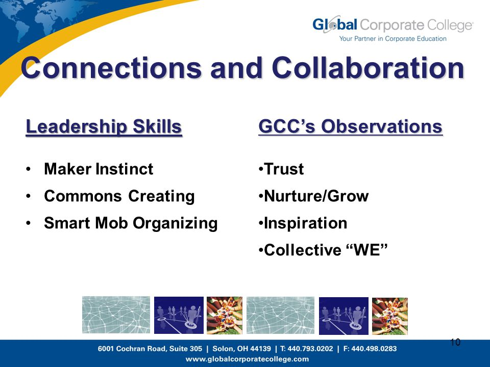 Connections and Collaboration