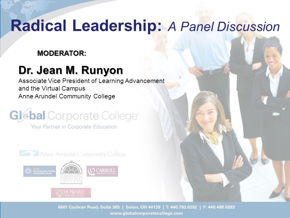 Radical Leadership: A Panel Discussion