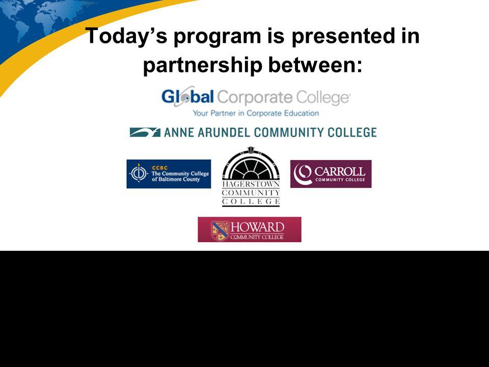 Today's program is presented in partnership between: