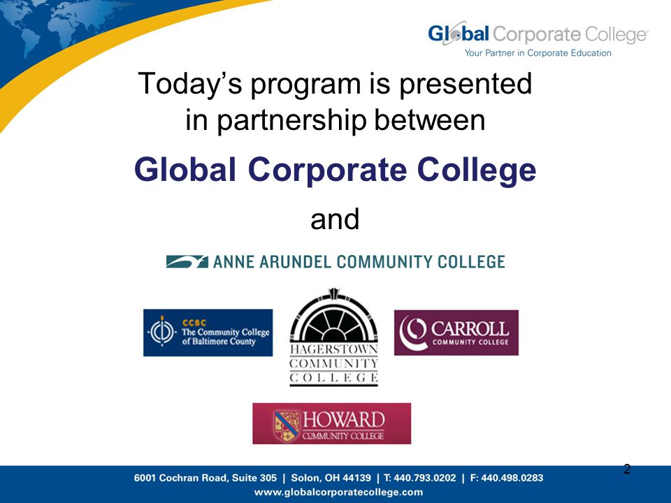 Global Corporate College