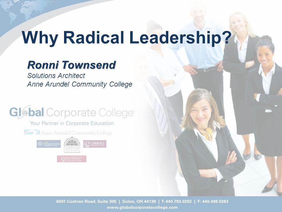 Why Radical Leadership