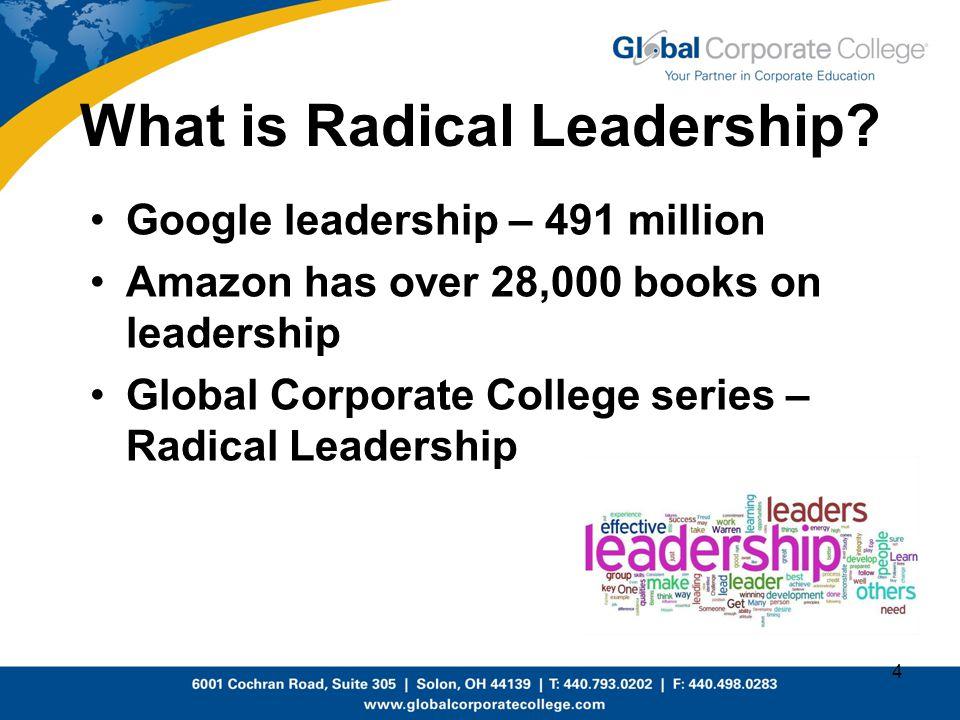 What is Radical Leadership