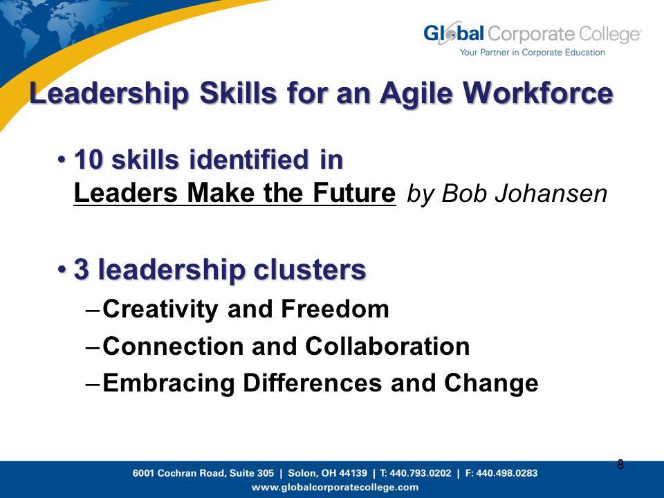 Leadership Skills for an Agile Workforce