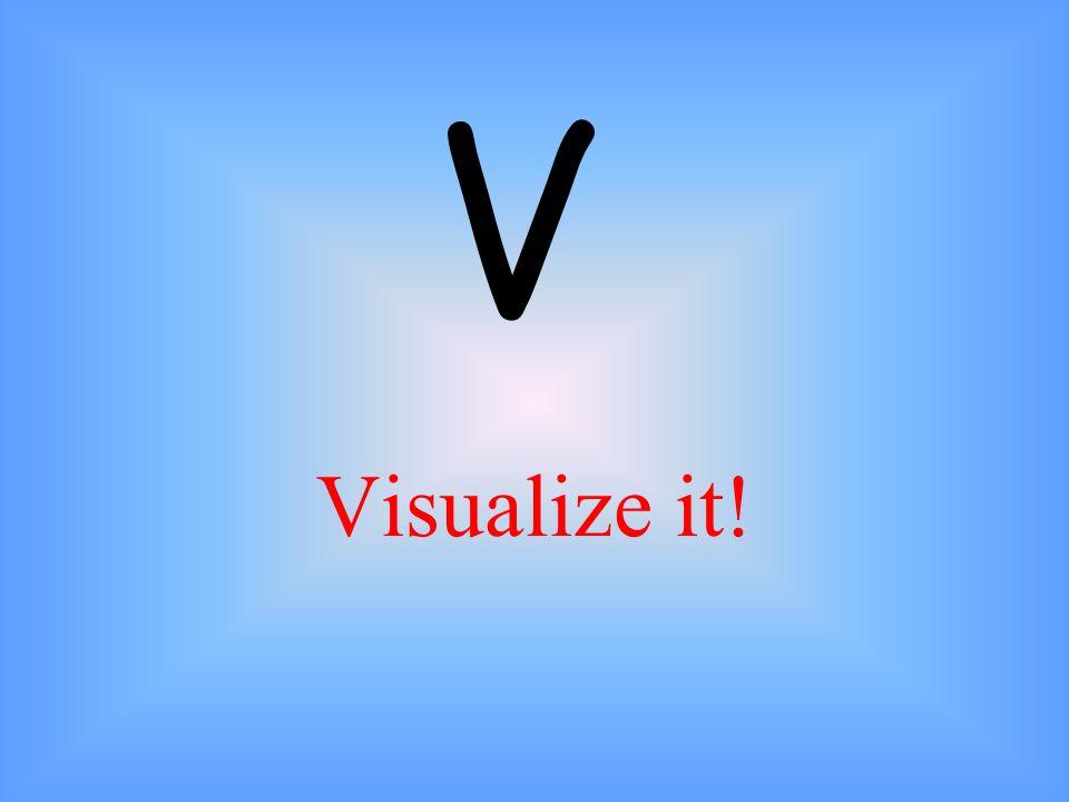 V Visualize it!