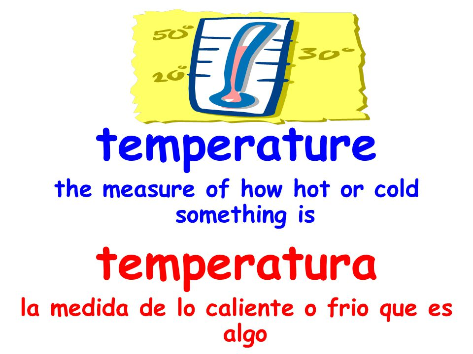 temperature temperatura