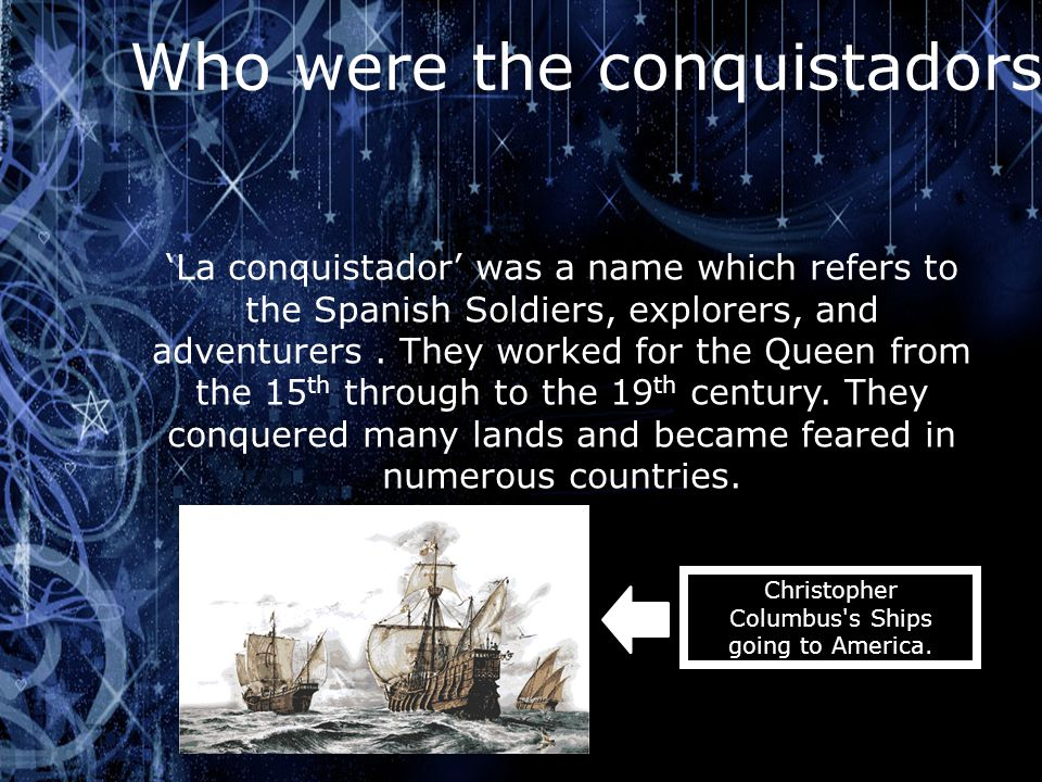 Christopher Columbus s Ships going to America.