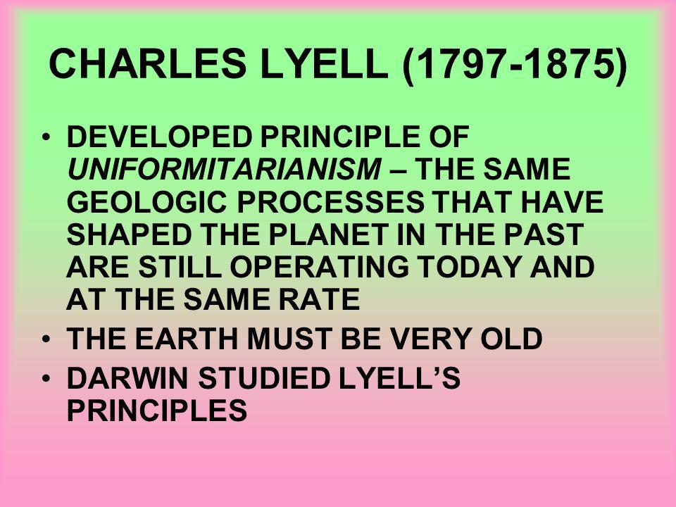 CHARLES LYELL (1797-1875)