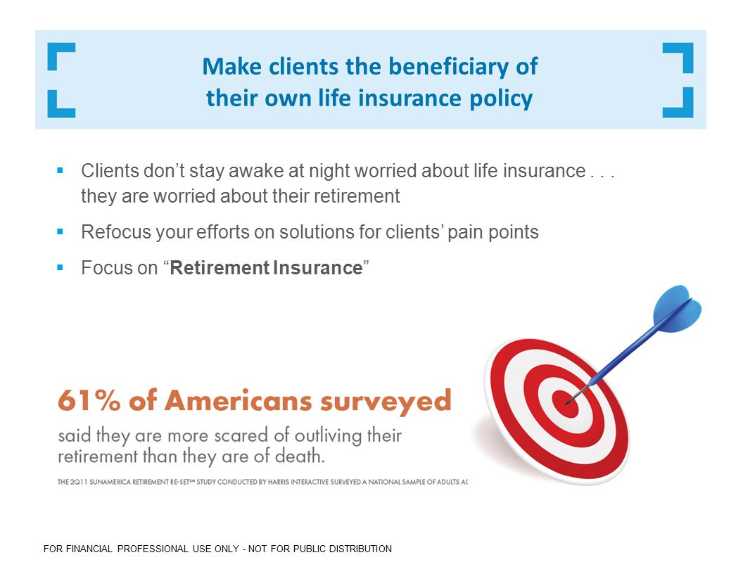 Why focus on Retirement Insurance