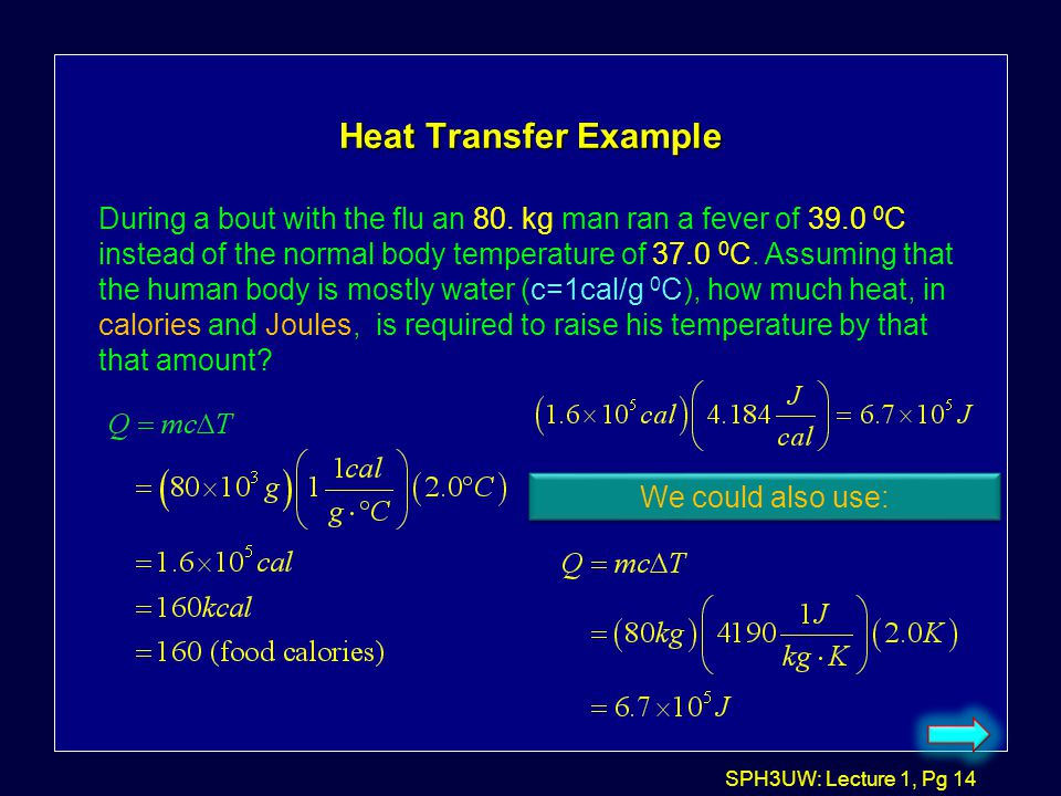 Heat Transfer Example