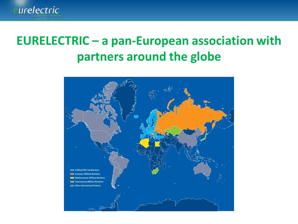 EURELECTRIC – a pan-European association with partners around the globe