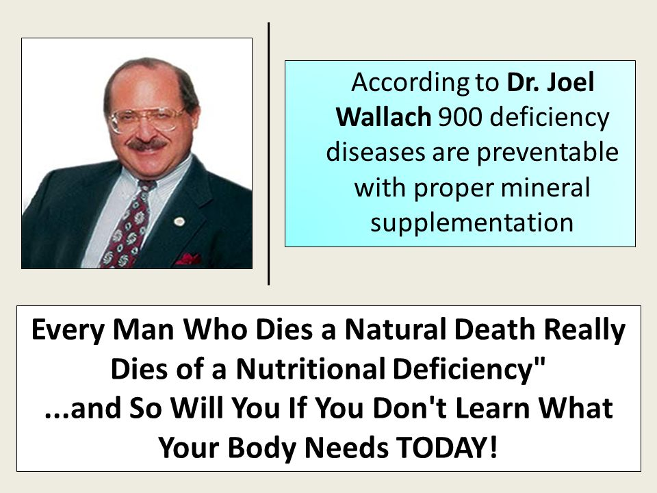 ...and So Will You If You Don t Learn What Your Body Needs TODAY!